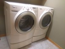 Whirlpool Duet washer and dryer in Naperville, Illinois