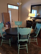 Dining table and chairs in Naperville, Illinois