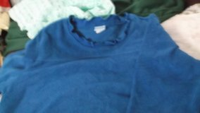 terry/fleece shirt size large in Alamogordo, New Mexico