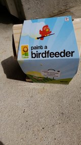 New paint your own bird feeder in Kingwood, Texas