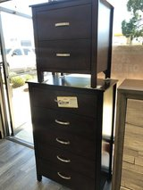 (@@) BRAND NEW! QUALITY WOOD ESPRESSO CHEST + NIGHTSTAND COMBO!:) in Camp Pendleton, California