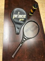 Prince Pro Tennis Racquet and Cover in Morris, Illinois