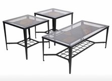End Tables - Metal/Glass in Chicago, Illinois