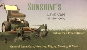 Lawn Care Services in Spring, Texas
