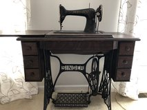 Antique Singer sewing machine in Naperville, Illinois