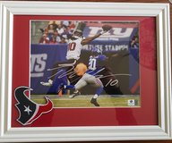 DeAndre Hopkins Autographed 8x10 - Matted and Framed - with COA in Spring, Texas