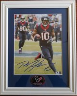 DeAndre Hopkins Autographed 8 x 10 - Matted/Framed - with COA in Spring, Texas