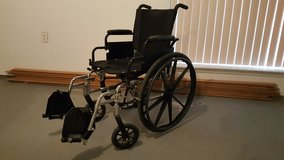 Regular size wheelchair in great shape. Shows no wear in The Woodlands, Texas