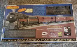 Rail King Powhaten Arrow Passeger train set in Bolingbrook, Illinois
