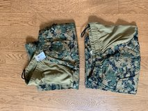USMC Two Maternity Woodland Trousers Size MR and MS in Camp Lejeune, North Carolina