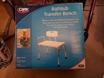 Bathtub transfer bench in Clarksville, Tennessee