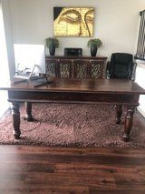 Beautiful Antique Solid Wood Desk in The Woodlands, Texas