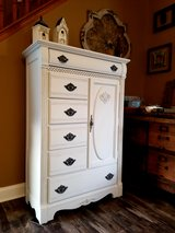 Beautiful refinished dresser Armoire in Bolingbrook, Illinois