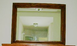 LARGE MIRROR, ROSEWOOD FRAME in Conroe, Texas