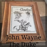 "John Wayne ""The Duke"" Picture in Fort Irwin, California"
