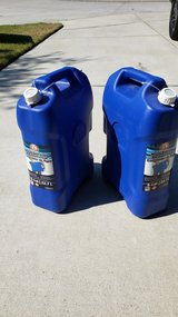 NEW 6 Gallon Water Containers (Seals Never Broken) in Spring, Texas