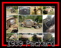 1939 Packard in Leesville, Louisiana