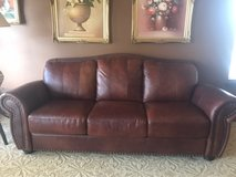 Leather sofa& Loveseat in Aurora, Illinois