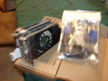 gforce gt 545 dual video card w/cables in Alamogordo, New Mexico