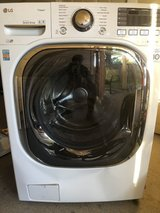 LG front loading washing machine in Fort Lewis, Washington