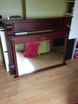 Large fire surround and mirror, project? (see description) in Lakenheath, UK