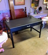 chalk painted solid wood desk in Cherry Point, North Carolina