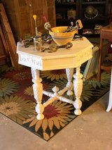 signed ultra high end hand carved table in Cherry Point, North Carolina