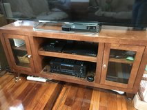 Large Wooden TV Stand in Okinawa, Japan