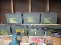ammo cans in Moody AFB, Georgia