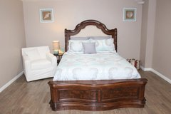 Queen Size Bed (including mattress) in Spring, Texas