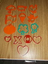 14 piece cookie cutters for various holidays in Aurora, Illinois