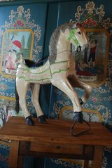 Merry go round horse in Ramstein, Germany