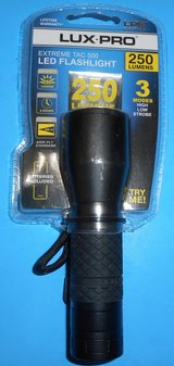 (TP1) Lux Pro Extreme Tac 500 LED Flashlight (New) in Spring, Texas