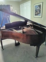 Baby grand piano in Leesville, Louisiana