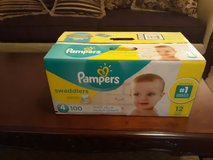 Pampers swaddlers in Byron, Georgia