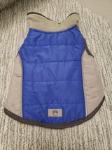 Blue/Grey Small Dog Jacket in Naperville, Illinois