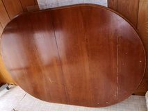 Oval Table with Leaf in Okinawa, Japan