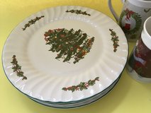 Christmas dishes in Wiesbaden, GE