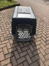 FAA approved dog crate in Ramstein, Germany