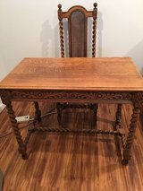 Antique Desk and Chair in Bolingbrook, Illinois