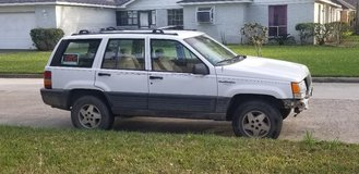 1995 Jeep Grand Cherokee Laredo.  2WD.  4.0L Engine.  Clear Title. $1200.00 in The Woodlands, Texas