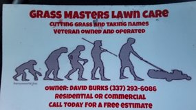 Grass Masters Lawncare in Leesville, Louisiana