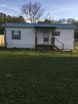 One bedroom bathroom mobile home in country partly furnished bills paid Up to $100 a month on th... in Fort Polk, Louisiana