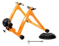 Conquer Indoor Bicycle Cycling Trainer Exercise Stand Orange in Ramstein, Germany
