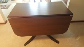 Drop leaf table with claw feet in Aurora, Illinois