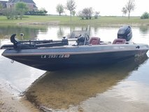 Cajun Bass Boat in Leesville, Louisiana
