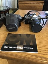 Olympus OM-2 35 mm Camera with Manual and Case in Aurora, Illinois