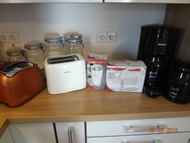 Small 220 Kitchen Appliances (Coffee Maker, Coffee Grinder, Mixer, Toaster) in Ramstein, Germany