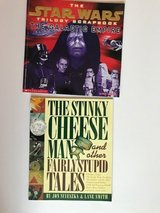 2 kids' books - Star Wars and Stinky Cheese Man in Oswego, Illinois