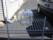 "6 1/2 "" DIAMETER X 7 "" TALL CLEAR GLASS PUMPKIN in Bartlett, Illinois"